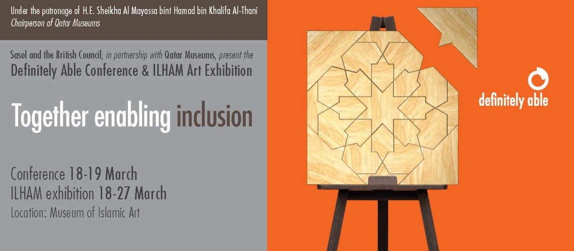 main photo of Definitely Able Conference and Ilham Art Exhibition