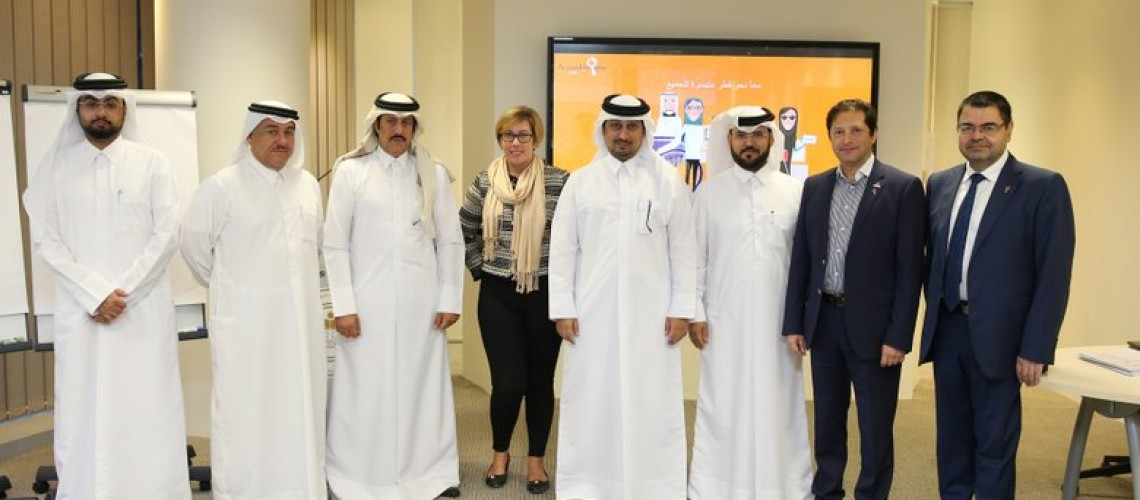 image about Sasol and the Qatari National Committee for Education, Culture and Science organize Accessibility Awareness and Audit Training